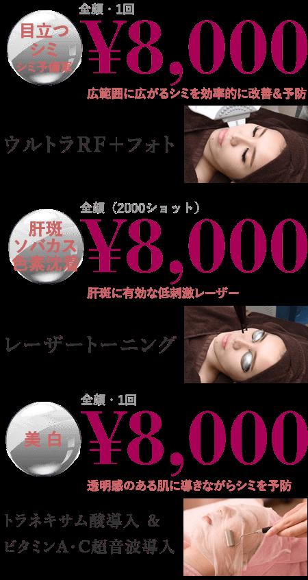 ¥8,000